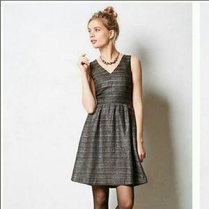 Moulinette Soeurs Anthropologie Tweed Dress